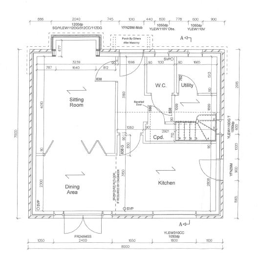 Floorplans For Rydal Avenue, Whitchurch