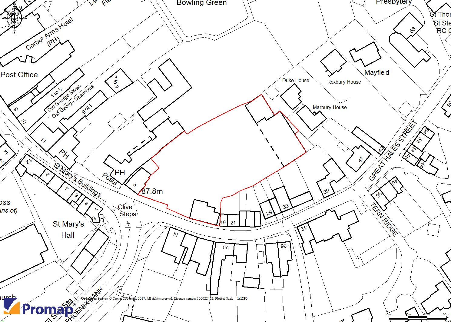 Floorplans For Land at Great Hales Street, Market Drayton, TF9 1JW