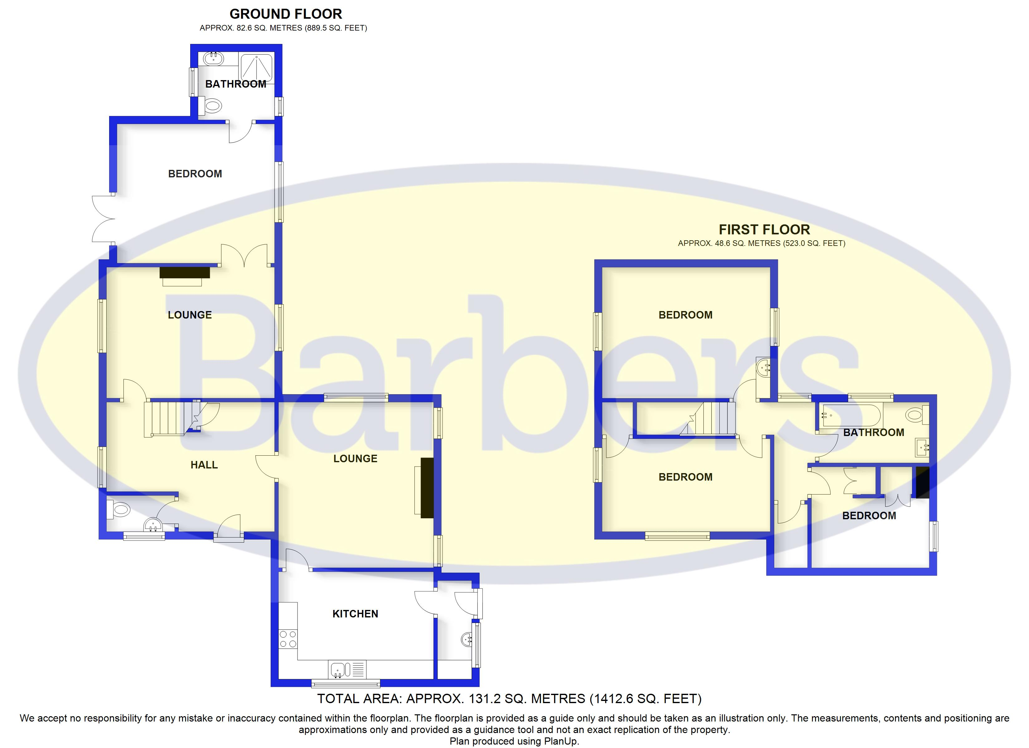 Floorplans For Malpas, Cheshire